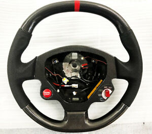 Carbon Fiber Steering Wheel For Ferrari F430 Coupe And F430 Spider