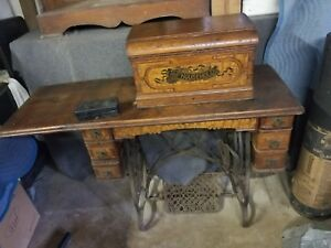 Antique Sewing Machine Household