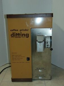 Ditting Commercial Supermarket Kfg Coffee Grinder 1 Lb 2 Lb Ch 8184 Swiss