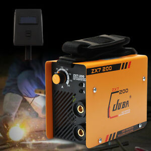 220v Zx7 200 Mma Arc Welder Dc Igbt Welding Machine Soldering Inverter mask Kit