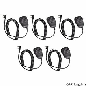 Lot 5 Microphone Speaker For Kenwood Nx220 Nx320 Nx240v Nx340u Nx420 Tk208 Radio