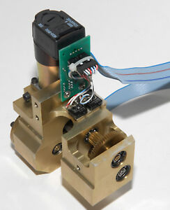 Leica Dm irbe Microscope Focus Motor Gear Assembly W Encoder And Limit Switches