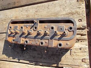 Farmall C Tractor Original Ih Engine Motor Cylinder Head
