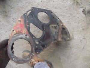Farmall M Tractor Ih Engine Motor Front Plate