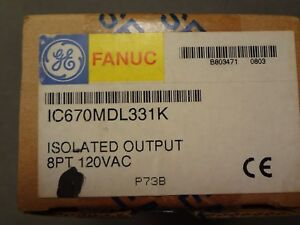 Ge Fanuc New Ic670mdl331k