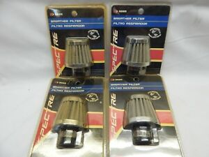 Lot Of 4 Spectre K N 3995 Stainless Breather Vent Filter Fits 8 12mm 3 8 1 2