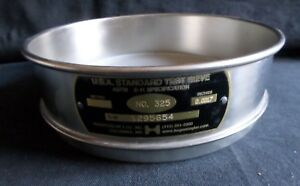 Hogentolger 8 d Usa Standard No 325 Stainless Steel Test Sieve 45um 5216