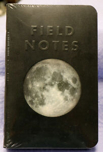 Field Notes Lunacy Subscriber Edition Sealed 4 pack New And Unused