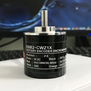 1x Omron 1200p Incremental Rotary Encoder 1200p r E6b2 cwz1x Differential Signal
