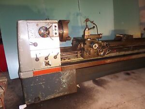 Clausing Colchester 21 Lathe 110 Long Gap Bed Ways In Very Nice Shape Video
