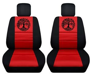 Fits 2012 2016 Toyota Camry Front Set Car Seat Covers Tree Of Life Design