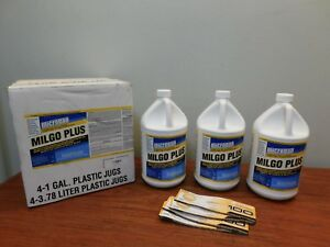 Microban Milgo Plus Commercial Disinfectant Cleaner Concentrate Lot Of 3 Gallon