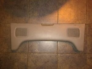 Geo Metro Convertible Rear Speaker Cover Interior Trim Piece