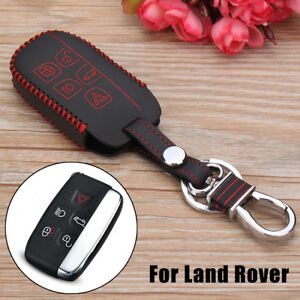 Car Key Chain Holder Case Skin For Land Rover Range Rover Sport Discovery Lr2