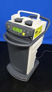 Ethicon Gen 04 Ultracision Harmonic Scapel Generator 300 On Cart With Footpedal