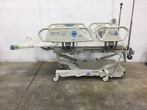 Hill rom P1900 Total Care Electric Hospital Patient Sport Bed For Foam Mattress