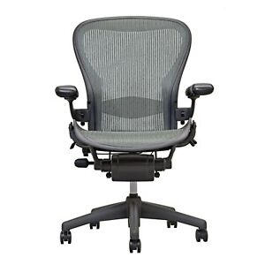 Herman Miller Aeron Size B Fully Loaded Adjustable Lumbar