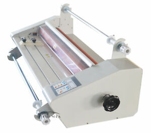 25in Hot Cold Roll Laminator High Temperature Thermal Laminating Machine