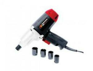 Wilmar Corporation Electric Impact Gun Set 1 2in Dr