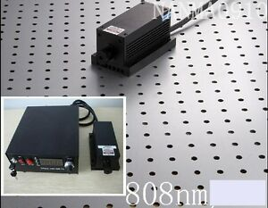 5w 808nm Ir Laser Dot Module Ttl analog Tec Fa Lab Dpssl Power Supply