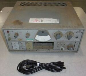 Marconi Instruments Tf 2092b Noise Receiver See Notes