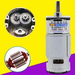 775 Miniature Geared Motor Dc Forward And Reverse Low Speed Large Torque Motor