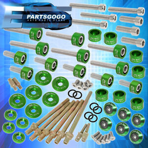 Cup Header Cam Cap Washers m6 Racing Fender valve Cover Washer K series Green