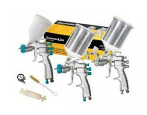 Devilbiss Automotive Refinishing Starting Line 3 gun Kit