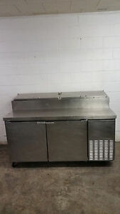 Continental Cpt67 67 Pizza Salad Sandwich Prep Table Tested 115v