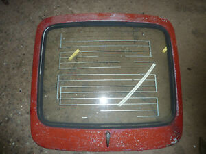 Triumph Gt6 Factory Rear Hatch Deck Lid With Glass