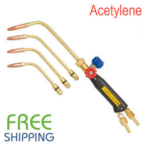 Gas Welding Torch Type Oxy Acetylene Free Shipping