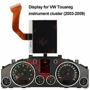 For Porsche Cayenne Speedometer Cluster Lcd Display Screen Vw Touareg Instrument