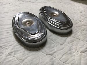 1962 Chrysler 300 H Factory Dual Quad Oval Air Cleaner Cleaners 413 1958 1959