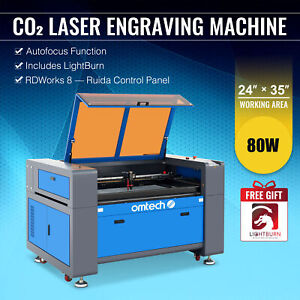 80w Engraver Cutter W Usb Interface Laser Engraving Machine 700x500mm