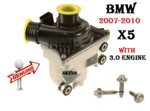 07 10 Bmw E70 X5 3 0si 30i Electric Water Pump Assembly With Bolt Kit Genuine