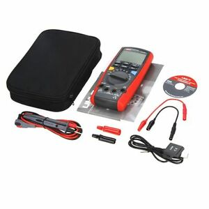 Uni t Ut71a True Rms Usb Dmm Intelligent Digital Multimeter Amp Ohm Cap Tester