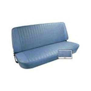 1973 77 Ford F Series Pickup Vinyl Bench Seat Cover Upholstery Kit Blue
