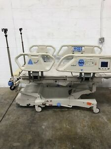 Hill rom P1900 Total Care Electric Hospital Patient Sport Bed For Air Mattress