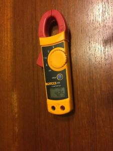 Fluke 322 Clamp Meter No Leads Used Working Unit