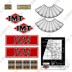 Imt Truck Crane 1014 Series Decal Kit