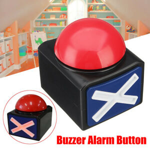 1 4pcs Game Answer Buzzer Alarm Button Sound Light Trivia Quiz Got Talent Buzzer