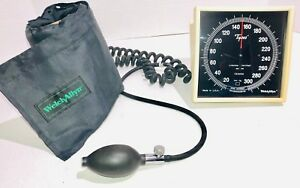 Welch Allyn tycos Sphygmomanometer Wall Mount W coiled Tubing Adult Usa Made