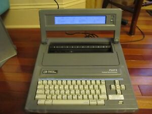 Smith Corona Electronic Typewriter Word Processor Pwp 3 With Cover Free Ship