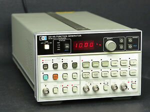 Hp Keysight 3314a Function Generator With Opt 001 20 Mhz