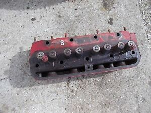 Farmall B Bn A Tractor Ih Good Engine Motor Cylinder Head Valves