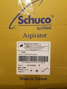 Schuco Vac Aspirator Vacuum Pump With Canister brand New S130a