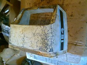 International Cub 154 Low Boy Ih Tractor Nice Original Hood Cover Dash Holder