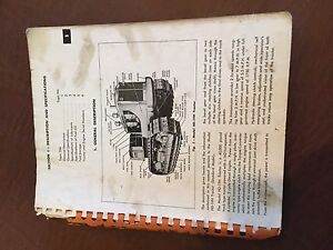 Allis Chalmers Allis chalmers Hd19 Crawler Service Manual Hd 19 Bulldozer