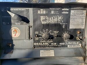 Lincoln Idealarc Dc Arc Welder Constant Current R3r 400 Tig stick