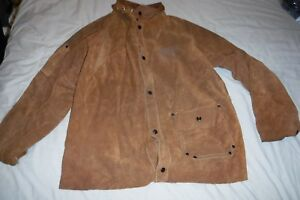 Welding Jacket Size Large Worn For 6 Weeks Tillman Cow Leather